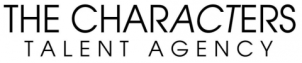 The Characters Talent Agency Banner B&W